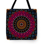Dotted Wishes No. 5 Kaleidoscope Tote Bag