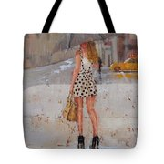 Dottie Tote Bag by Laura Lee Zanghetti
