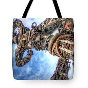 Douala New Freedom Monument Tote Bag