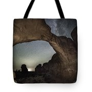 Double Arch Beneath The Stars Tote Bag