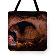 Double Arch Night Tote Bag