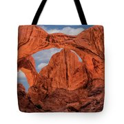 Double Arches At Arches National Park Tote Bag