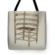 Double Back Chair Tote Bag