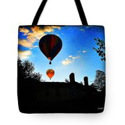 Double Balloons  Tote Bag