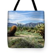 Double Barrel Cactus Tote Bag
