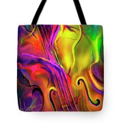 Double Bass Solo Tote Bag