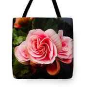 Double Begonia Tote Bag