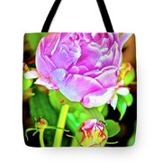 Double Blooms Tote Bag