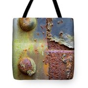 Double Bolt Tote Bag