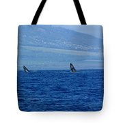 Double Breach Tote Bag