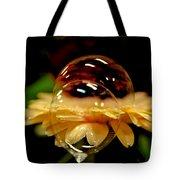 Double Bubble Flower Tote Bag