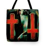 Double Cross La Femme Tote Bag