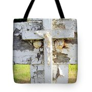 Double Crossed Tote Bag