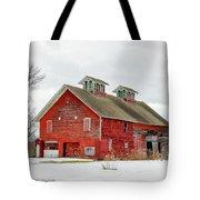 Double Cupola Barn Tote Bag