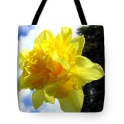Double Daffodil Tote Bag