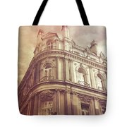 Double Decker View Tote Bag