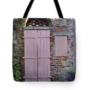 Double Doors And A Window Tote Bag