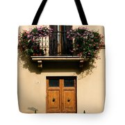 Double Doors And Balcony Tote Bag