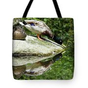 Double Double Duck Tote Bag