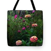 Double Framed Floral Tote Bag