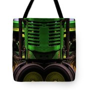 Double Green Machines Tote Bag