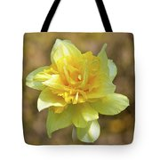 Double Headed Daffodil Tote Bag