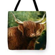 Double Horny Portrait Tote Bag