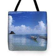 Double Hull Canoe Tote Bag