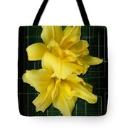 Double Jackpot Daylilies Tote Bag