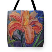 Double Lily Tote Bag
