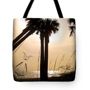 Double Palms Tote Bag