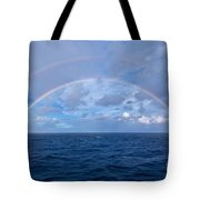 Double Rainbow Over The Atlantic Ocean Tote Bag