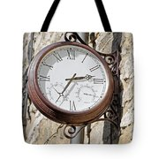 Double Sided Station Clock - Bakewell Tote Bag