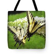 Double The Pleasure - Eastern Tiger Swallowtails Tote Bag