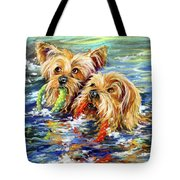 Double The Trouble Tote Bag