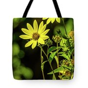 Double Yellow Tote Bag