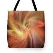 Doubled Vibrations Of Light Tote Bag