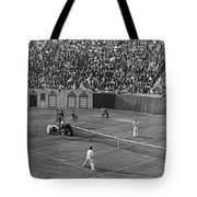 Doubles Tennis At Forest Hills Tote Bag
