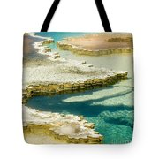Doublet Pool In Yellowstone Tote Bag