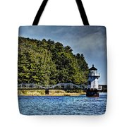 Doubling Point Lighthouse Tote Bag