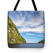 Doubtful Sound Opening To Tasman Sea Tote Bag