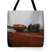 Dough Box Table At Christmas Tote Bag