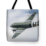 Douglas C-47 Dakota Za947 Tote Bag