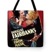 Douglas Fairbanks In The Iron Mask 1929 Tote Bag