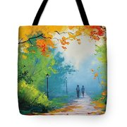 Douglas Holloway - Painting Tote Bag