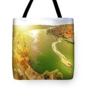 Douro River At Sunset Tote Bag