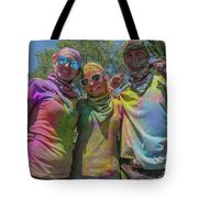 Doused With Color 2 Tote Bag