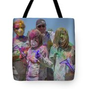 Doused With Color 3 Tote Bag