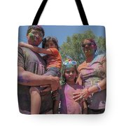 Doused With Color Tote Bag