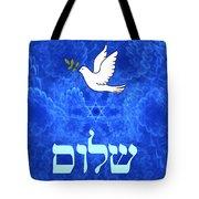 Dove - Shalom Tote Bag